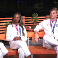 Track and field medalists Athing Mu, Raevyn Rogers, Chris Nilsen join TODAY in Tokyo