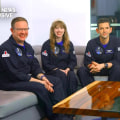 Civilian crew of SpaceX's Inspiration4 talk to Lester Holt