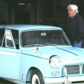James Corden visits 'Jay Leno's Garage'