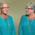 Identical twins raise awareness of ovarian cancer as they battle it together
