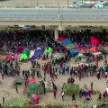 Thousands of migrants remain at Texas border