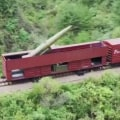 North Korea launches ballistic missiles from train