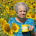 Sunday TODAY fan shares mug shot from field of sunflowers