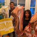 Twins celebrate 16th birthday with Sunday TODAY mug shot