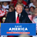 Trump pushes false claim he won 2020 election at rally in Georgia
