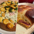 Katie Lee makes clam chowder dip, baked bologna sliders