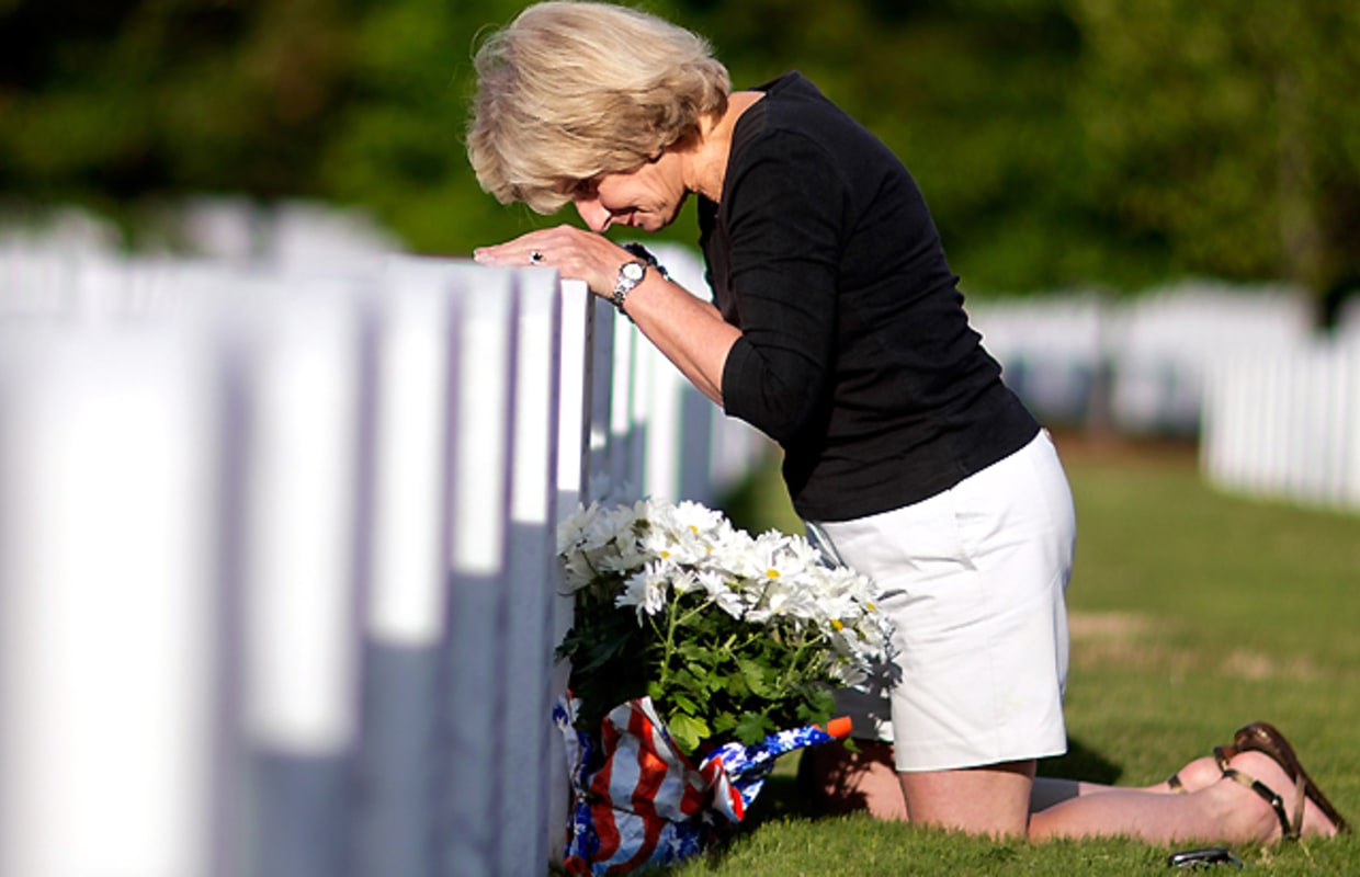 Military's fallen remembered over Memorial Day weekend