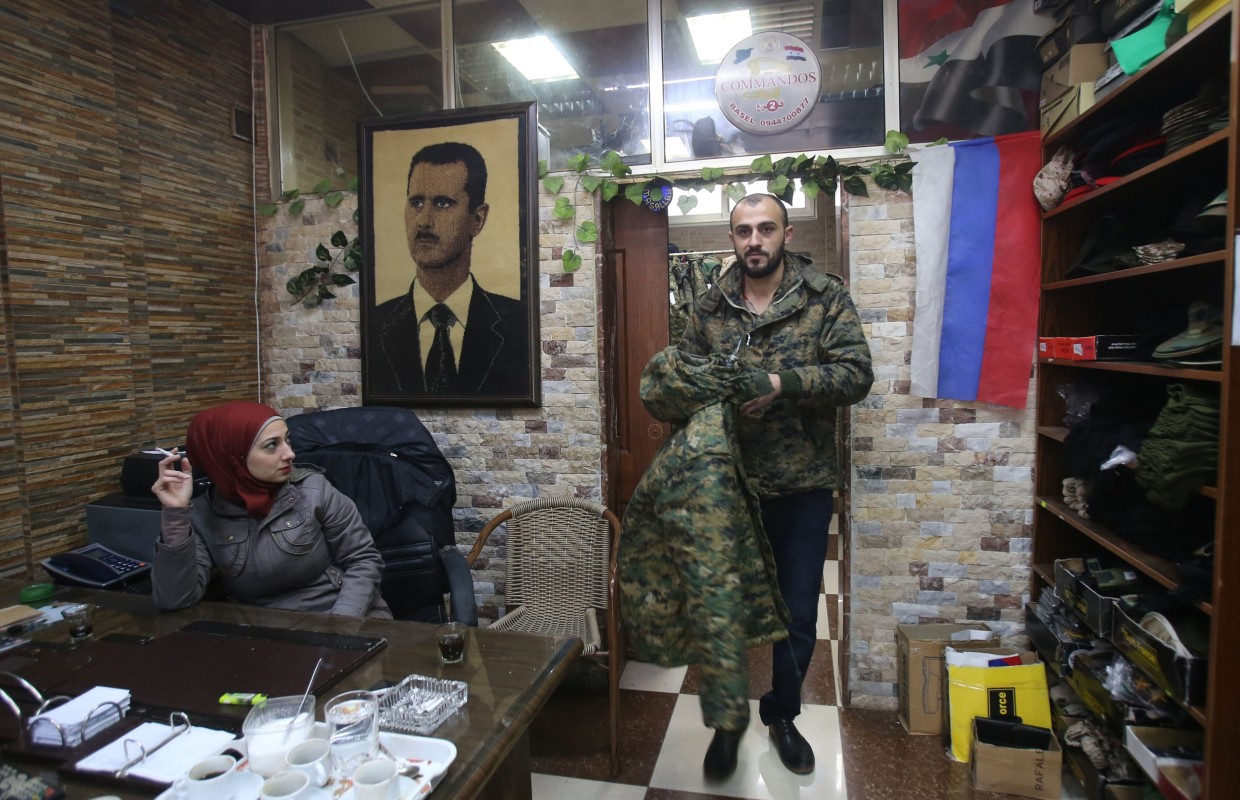 Russian Soldiers Bring Profits to Syrian Business Owners