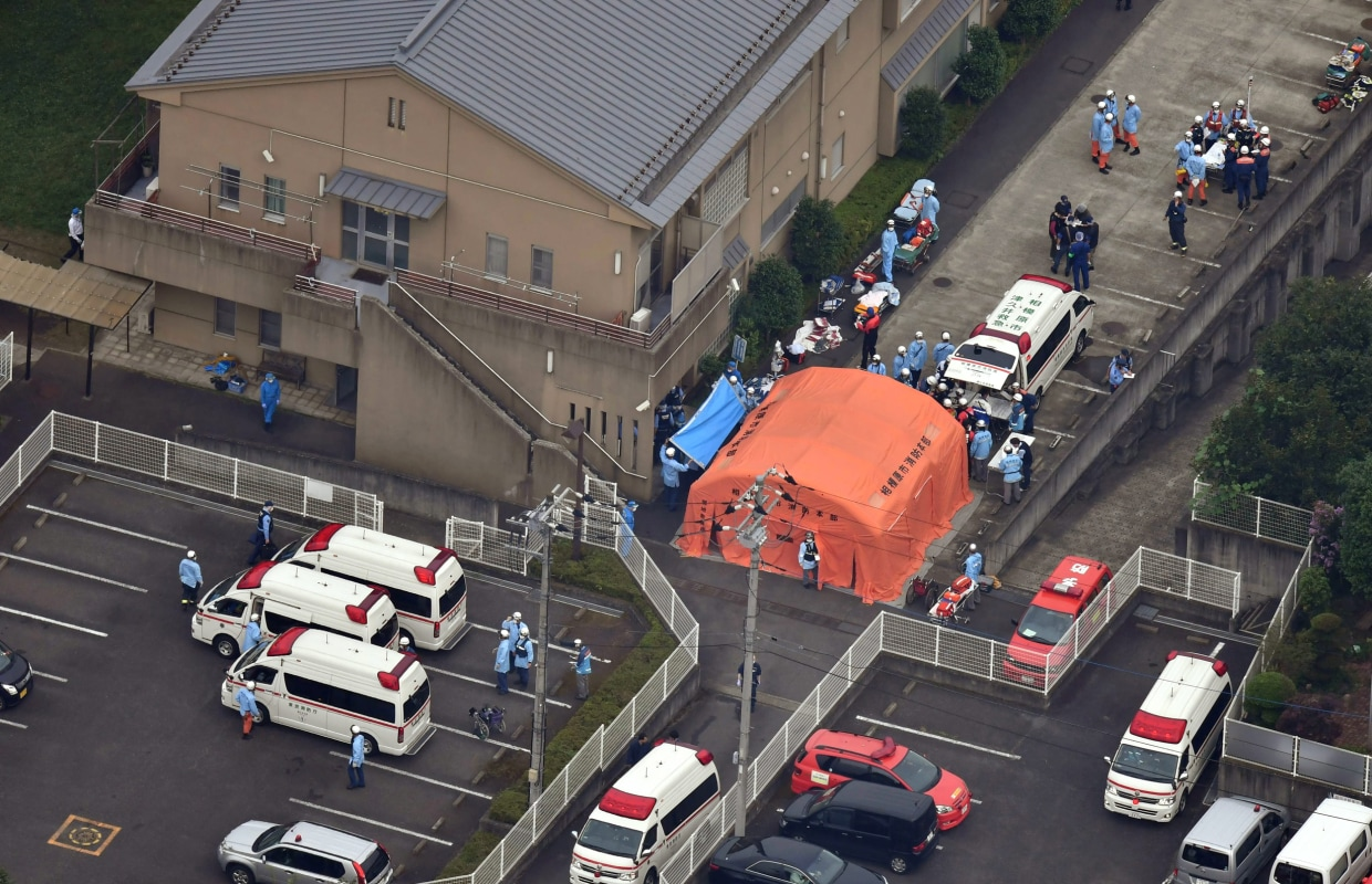 Mass Killing at Care Center for Disabled Shocks Japan