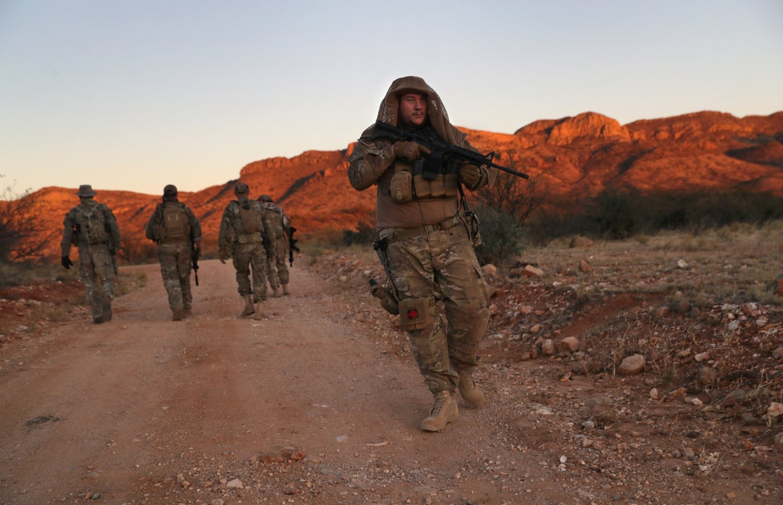 Armed Citizens Patrol U.S.-Mexico Border in Arizona