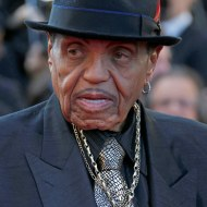 """Image: FILE PHOTO: Joe Jackson father of the late pop star Michael Jackson arrives for the screening of the film """"Sils Maria"""" in competition at the 67th Cannes Film Festival in Cannes"""