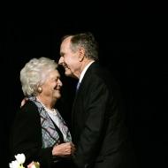Image: George H.W. Bush, Barbara Bush