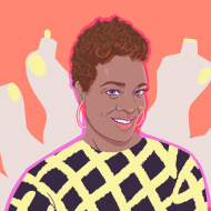 Illustration of Brandice Daniels.