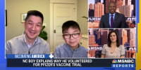 """""""I wanted to help out in the fight against the virus"""": 13-year-old Caleb Chung talks about participating in Pfizer's vaccine trial for kids"""