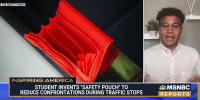 College student invents Safety Pouch to help reduce confrontations during traffic stops