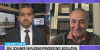 Sen. Schumer on passing President Biden's agenda with 50-50 Senate