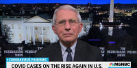 Dr. Fauci on the latest U.S. Covid-19 response