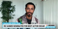 Best Actor nominee Riz Ahmed on diversity in Hollywood