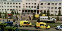 At least 7 students killed and 22 injured in Russian school shooting
