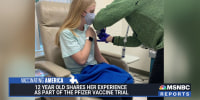 12-year-old shares her experience as part of Duke University Pfizer vaccine trial