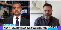 Actor Nick Offerman on the movement to vaccinate America