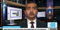 Mehdi Hasan calls out politicians over DC statehood hypocrisy