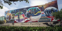 Artist commemorates Juneteenth with mural in Galveston, Texas