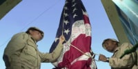 Why the U.S. canceled NATO flag-lowering ceremony in Kabul