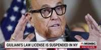 Rudy Giuliani's law license suspended in New York