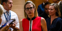 Sen. Sinema continues to voice support for the filibuster ahead of elections bill vote