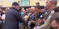 Miami-Dade County mayor presents keys to county to Israeli defense forces commander, colonel