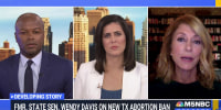 Former Texas State Senator Wendy Davis calls out some companies' silence on Texas abortion law