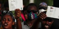 Advocacy groups call on Biden administration to halt deportations to Haiti