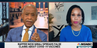 'We don't need name-calling, we need solutions', Sharpton defends MSNBC's Joy Reid