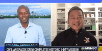 Former NASA astronaut Leroy Chiao reflects on the history made by the Inspiration4 crew after they splashed down off the coast of Florida on Saturday