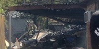Military plane crashes in Lake Worth, Texas injuring two, damaging homes