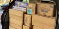 Small businesses stocking up to prep for holiday shipping delays
