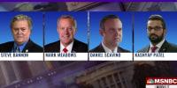 Jan. 6 select committee subpoenas four Trump associates including Steve Bannon
