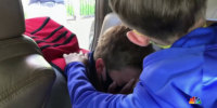Emotional reunion between 11-year-old and best friend after pandemic separation