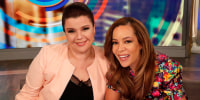 Two 'The View' hosts learn they are Covid positive on-air, moments before Harris interview