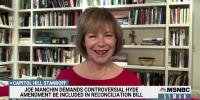 Sen. Tina Smith (D-MN) on Dem dysfunction after failure to pass infrastructure bills