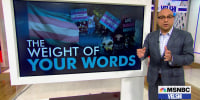Velshi: Sticks and stones may break your bones, but words can do real damage.