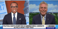 Political Giants Stump for Terry McAuliffe