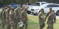 National Guard deployed to help Covid testing among students in Massachusetts