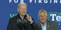 Terry McAuliffe, Glenn Youngkin deadlocked in Virginia governor's race: poll