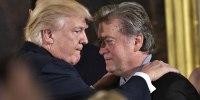 Image: Donald Trump and Stephen Bannon