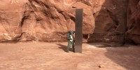 Image: Mysterious Monolith found in Utah