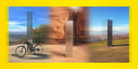 Image: Monoliths found in California, Utah and Romania.