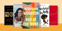 Illustration of five different books for Black Mothers