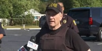 Richland County Sheriff Leon Lott says a Fort Jackson trainee has been arrested after hijacking a school bus with a gun in Fort Jackson, S,C., May 6, 2021.